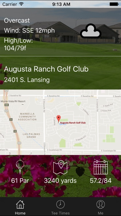 Augusta Ranch Golf Tee Times
