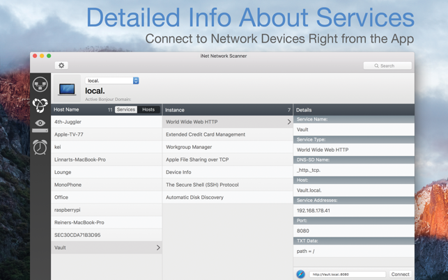 ‎iNet Network Scanner Screenshot