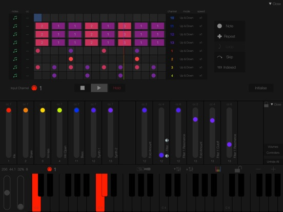 Screenshot #3 for LayR-Multi Timbral Synthesizer