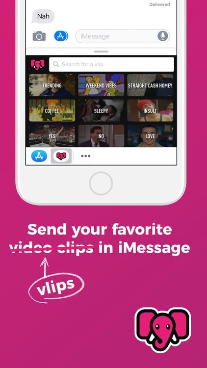 VLIPSY: Clips for Messaging screenshot-4