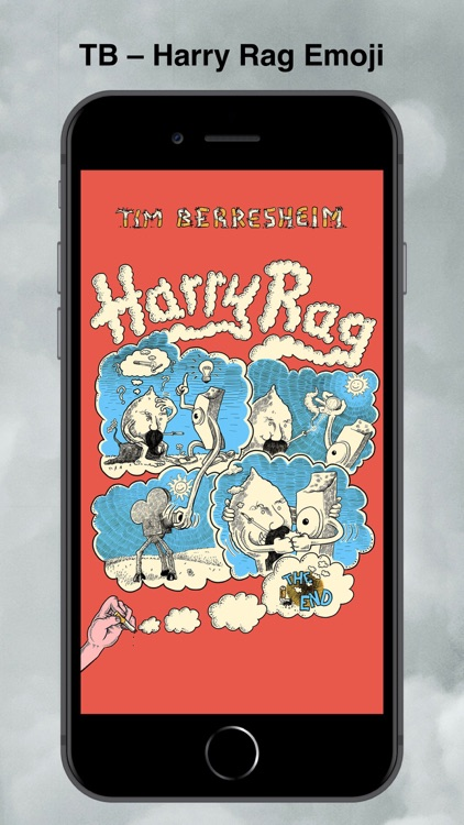 TB - Harry Rag Sticker