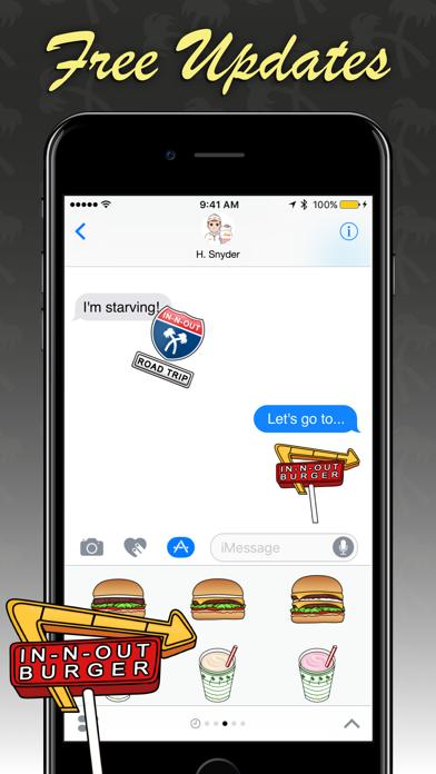 In-N-Out Emoji Screenshot