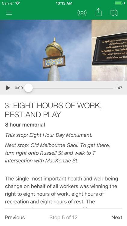 Melbourne Health History Walks screenshot-3