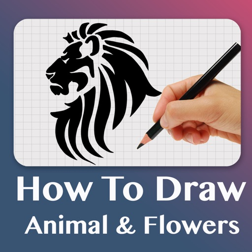 How To Draw Animals & Flowers