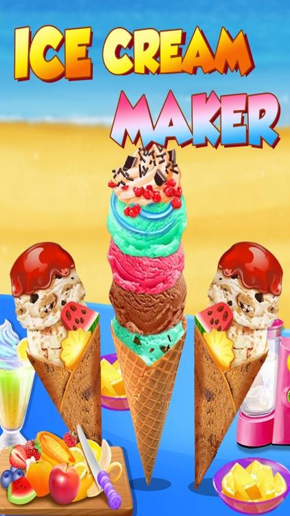 Ice Cream Maker - Cooking Games Fever screenshot-4