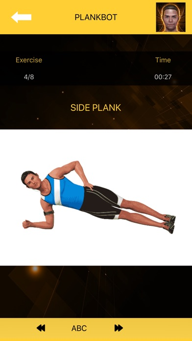 Planks Challenge - Plank Bot screenshot three
