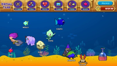 Screenshot for Pocket Aquarium! in Spain App Store