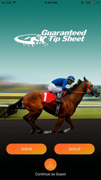 Horse Racing Tip Sheets app image