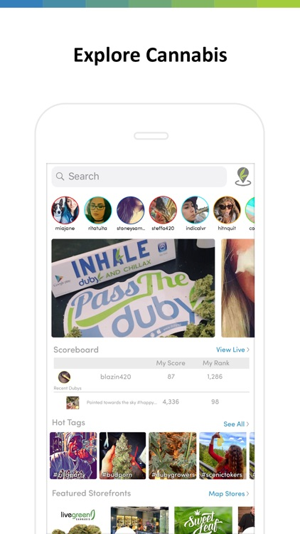 Duby - Weed Social Network screenshot-1