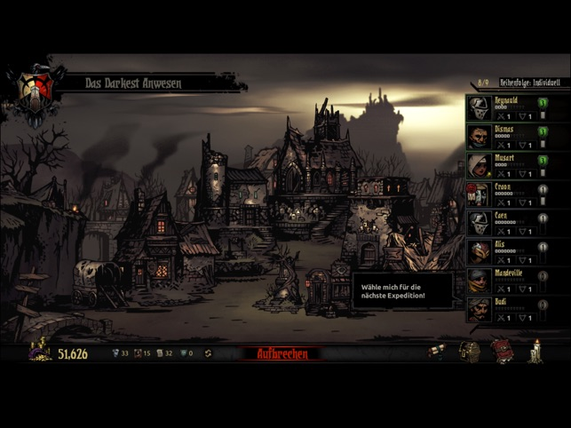 Darkest Dungeon:Tablet Edition Screenshot