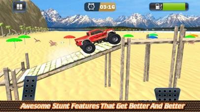 Grand Monster Truck Driving Sk screenshot 1