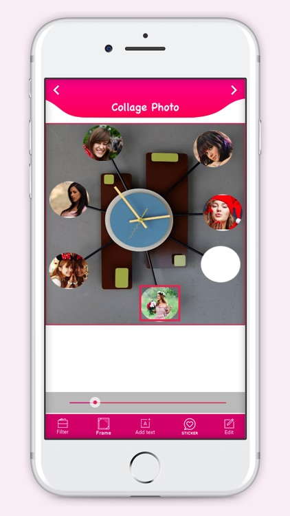 Clock Photo Collage Maker screenshot-4
