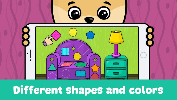 Shapes and colors - kids games by Bimi Boo Kids - Games for boys and ...
