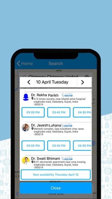 HealthxApp screenshot 3