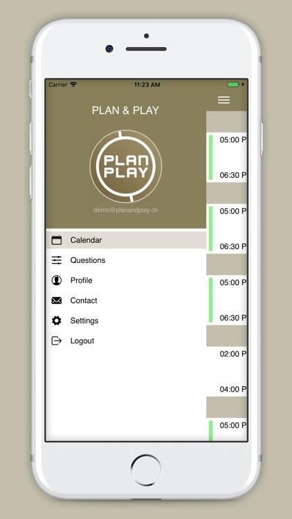 PLAN & PLAY screenshot-3