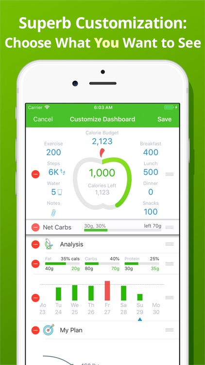 Calorie Counter - MyNetDiary screenshot-6