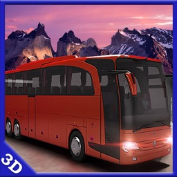 Coach Bus Offroad Hill Drive