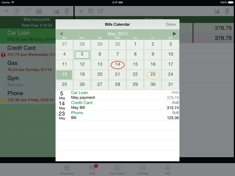 iCheckBalance for iPad screenshot-4