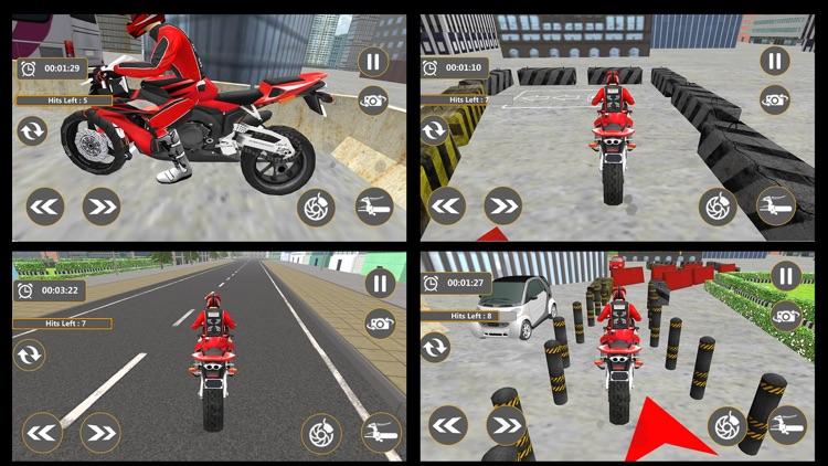 Real Bike Parking 2017 3D screenshot-4