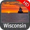 Wisconsin Lakes HD GPS Charts