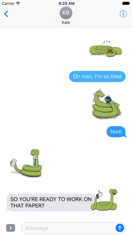 Snek Stickers screenshot-3