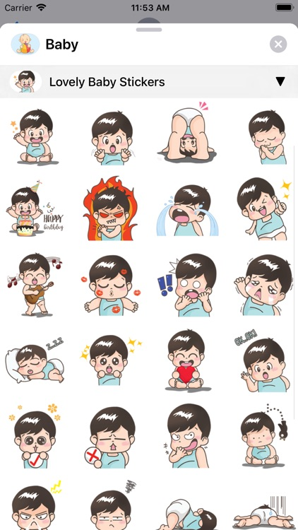 Baby Stickers • screenshot-4