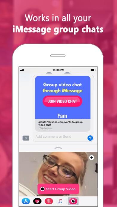 download Fam: Group video for iMessage apps 0