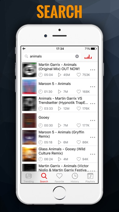 Screenshot for iMusic BG - MP3 Songs Player & Fast Music Streamer in Austria App Store