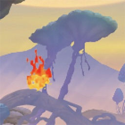 Flappy Flame: Jungle Adventure