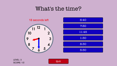 Quick Strike Clocks screenshot three