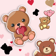 Activities of Cute Bear Match Find The Pair