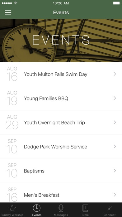 Community Church of Sandy screenshot 2