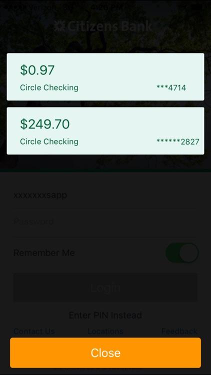 Citizens Bank Mobile Banking screenshot-4