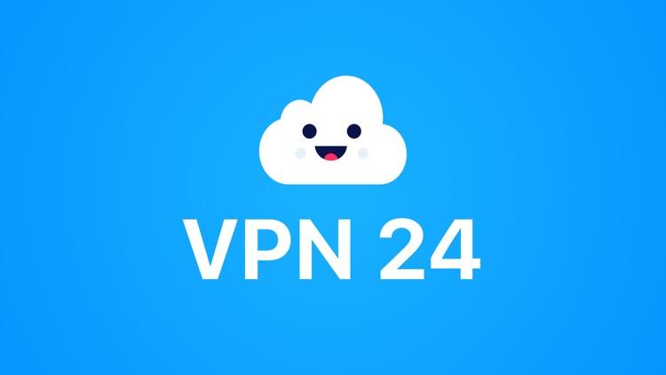 VPN 24: Hotspot VPN for iPhone screenshot-4