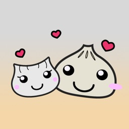 Dumplings Love Stickers