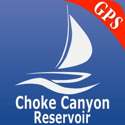 Choke Canyon Lake GPS Charts