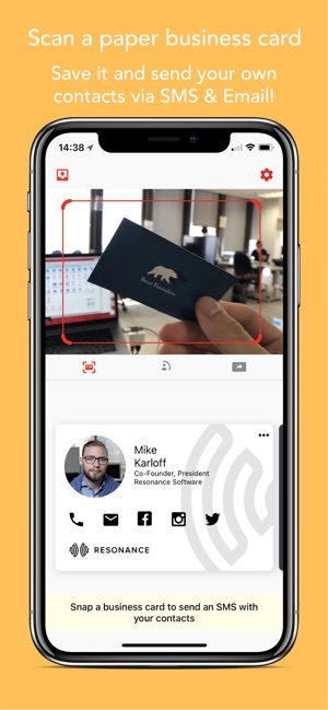 Dropex Business Cards Contacts On The App Store