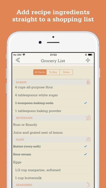 Recipe Organizer by OrganizEat screenshot-3