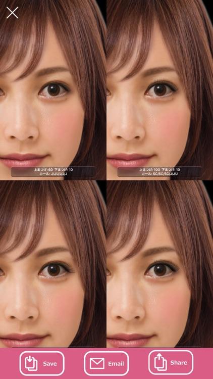 Eyelash: Try various designs screenshot-3