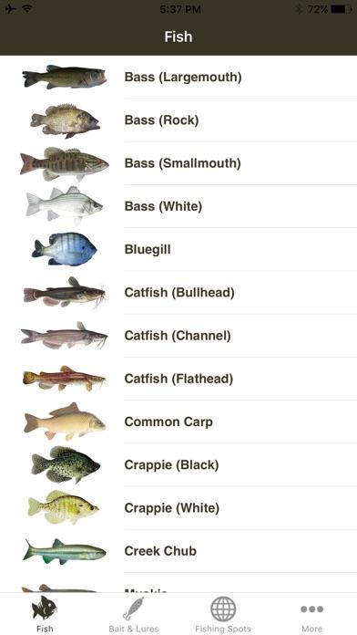 Freshwater Fishing Guide review screenshots