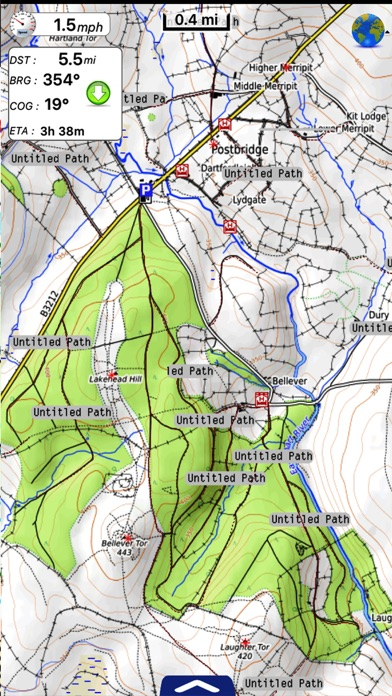 UK Parks & Forests GPS OS Maps screenshot three