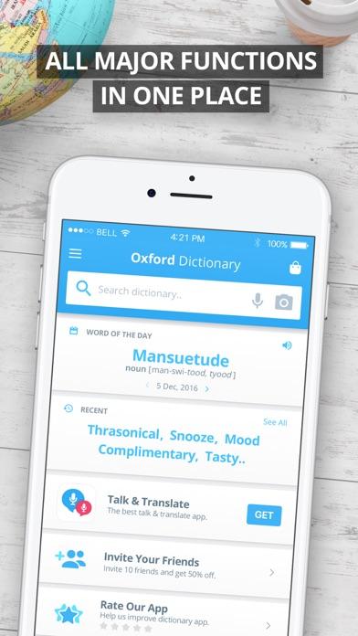 Oxford German Dictionary Screenshot 2