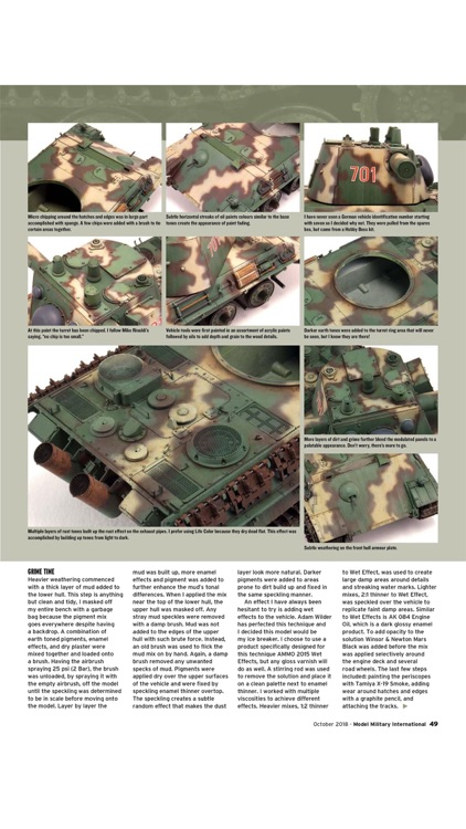 Model Military International screenshot-4