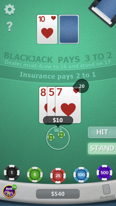Blackjack ◇ screenshot 9