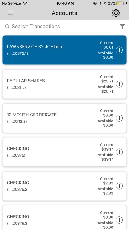 JSC FCU Mobile screenshot-2
