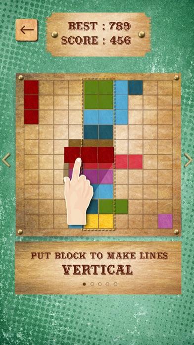 Retro Block Puzzle Game screenshot three