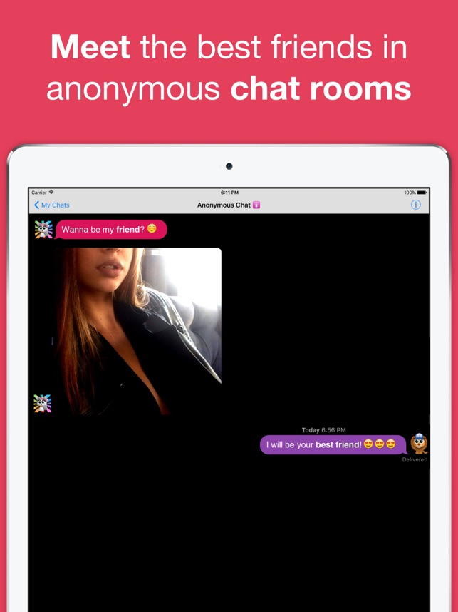 Anonymous chat sites