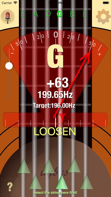 Dybos Guitar Tuner screenshot-3