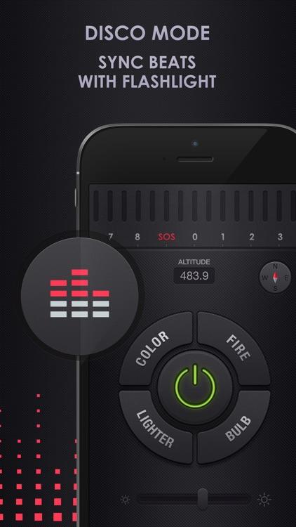 Flashlight for iPhone + iPad screenshot-3