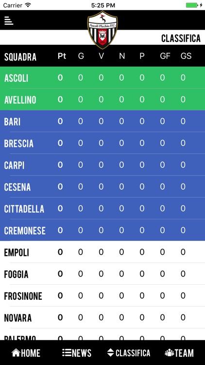 Ascoli Picchio Official App screenshot-4